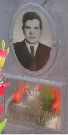 Животов Борис Александрович 1918-1989
