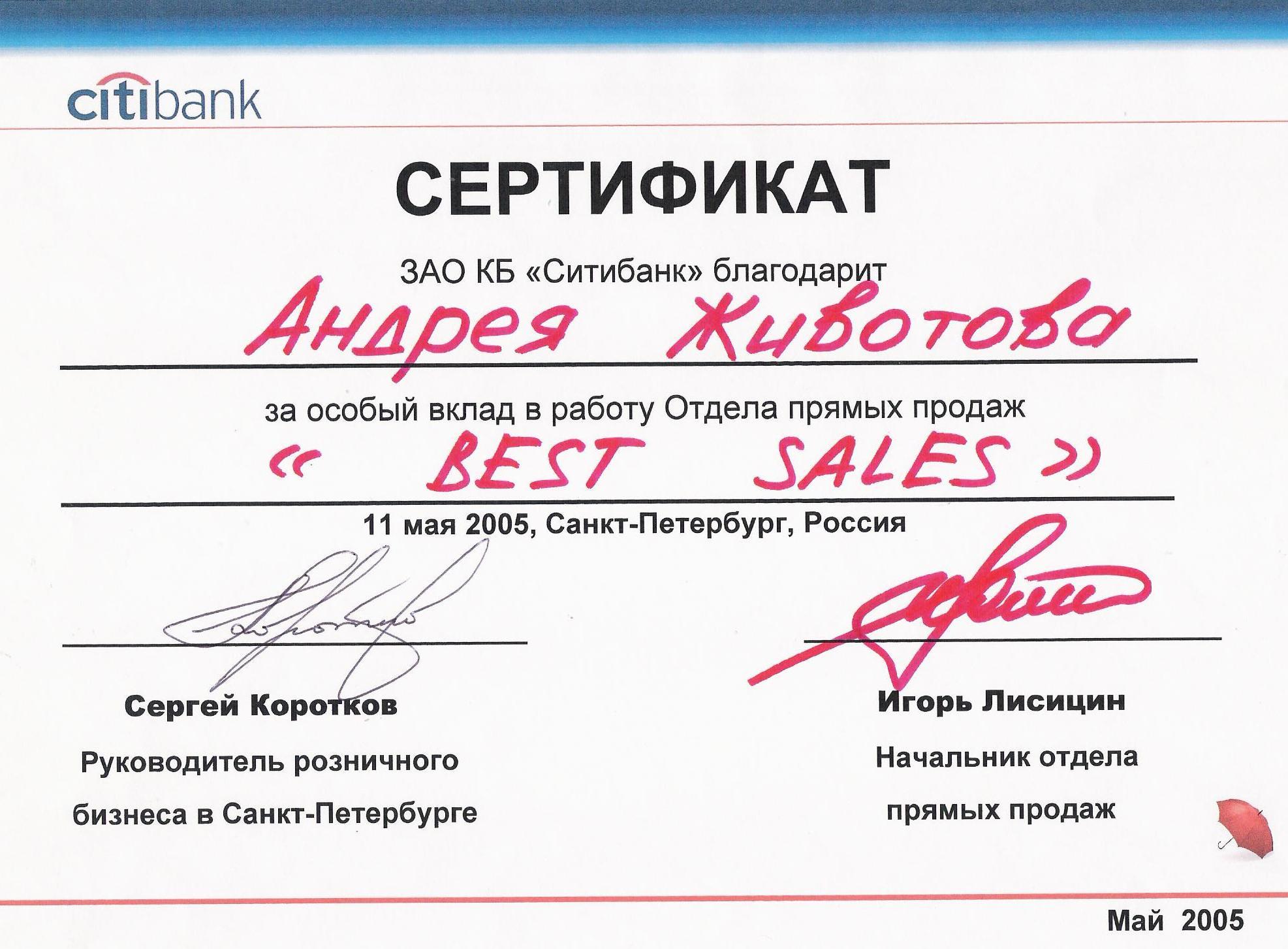 Citibank Zhivotov Korotkov Lisitsin