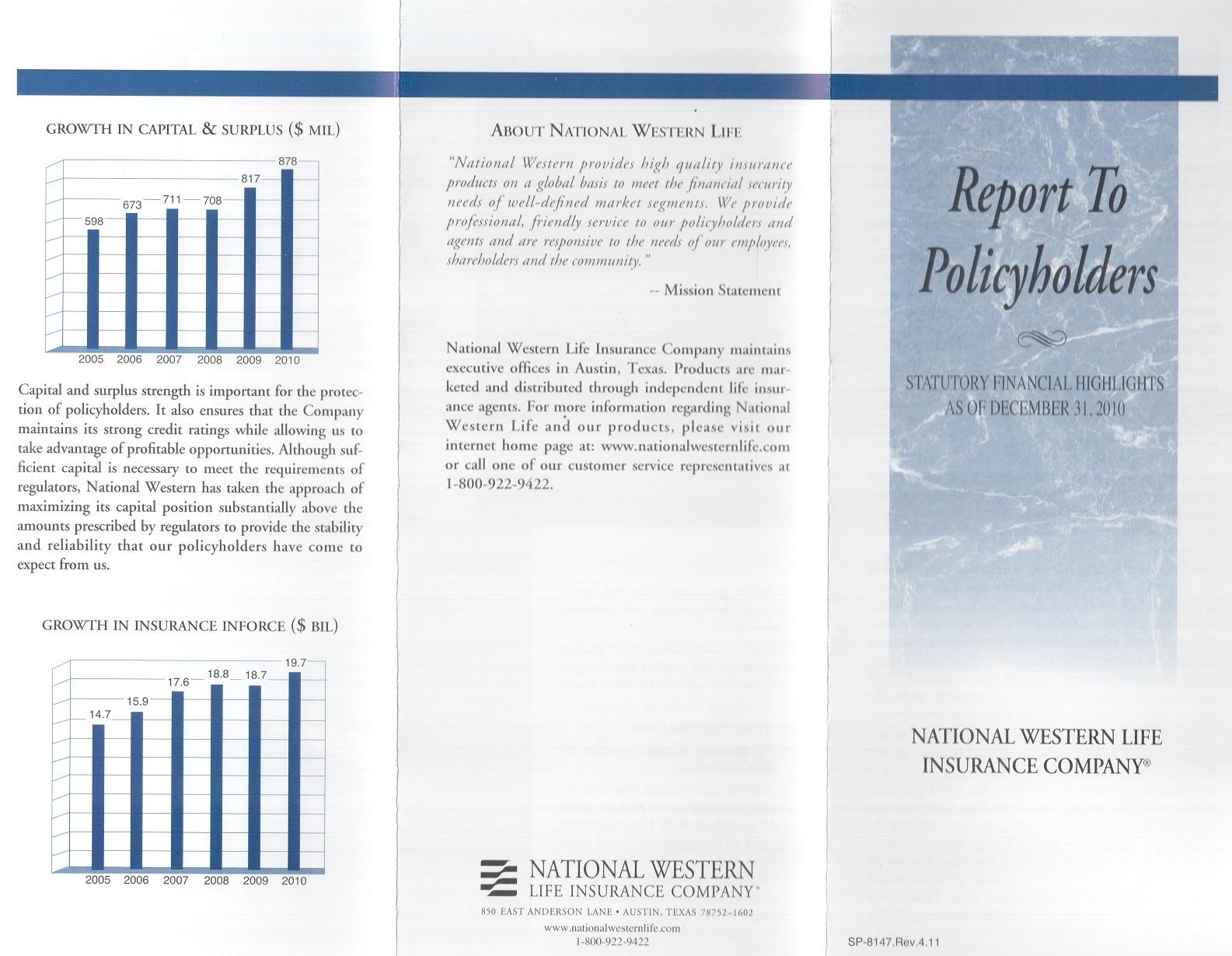 2010.12.31 Report NWLIC