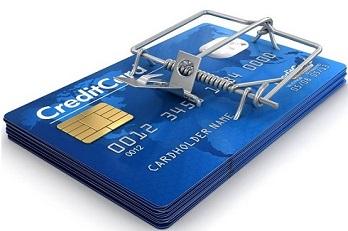 Card Mousetrap - кредитная карта - мышеловка