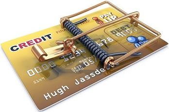 Credit Trap - кредитная карта - мышеловка